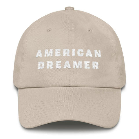 Image of American Dreamer *MADE IN THE USA* Hat - Stone