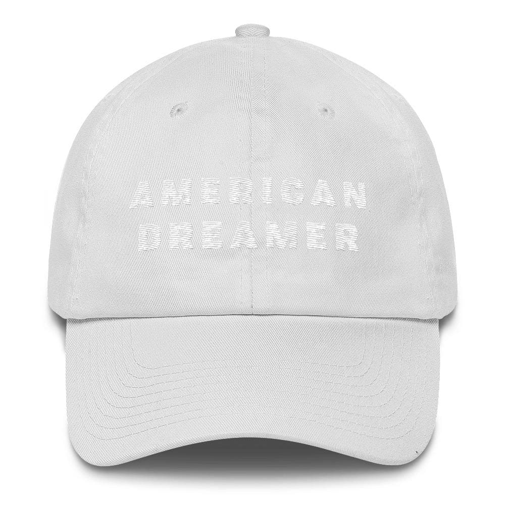 American Dreamer *MADE IN THE USA* Hat - White