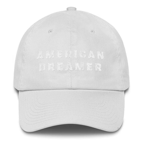 Image of American Dreamer *MADE IN THE USA* Hat - White