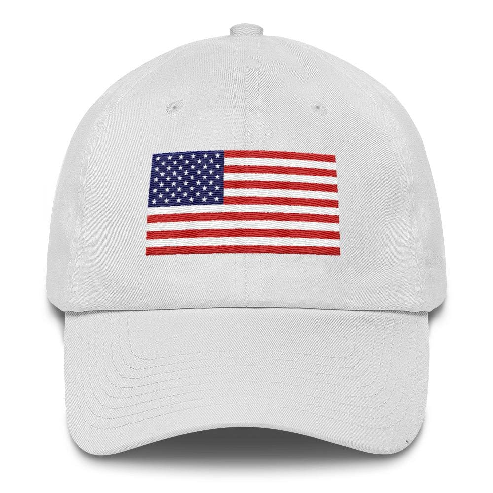 American Flag *MADE IN THE USA* Hat