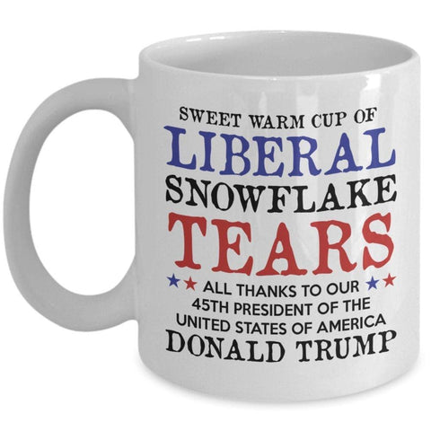 Image of American Greatness Liberal Tears Mug (Double Sided)