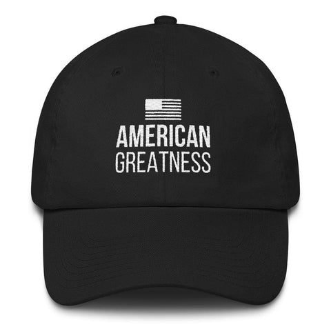 American Greatness *MADE IN THE USA* Hat - Red