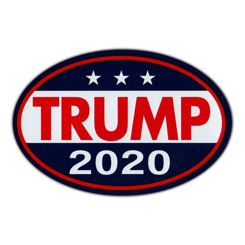 American Greatness TRUMP 2020 Oval Car Magnet
