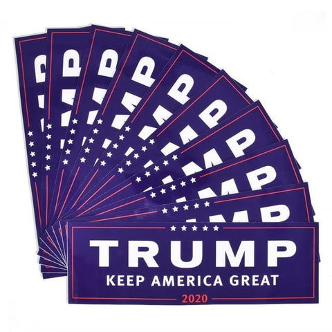 Image of American Greatness TRUMP KEEP AMERICA GREAT 2020 Stickers - 10pcs