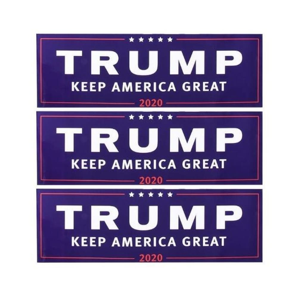 American Greatness TRUMP KEEP AMERICA GREAT 2020 Stickers - 3pcs