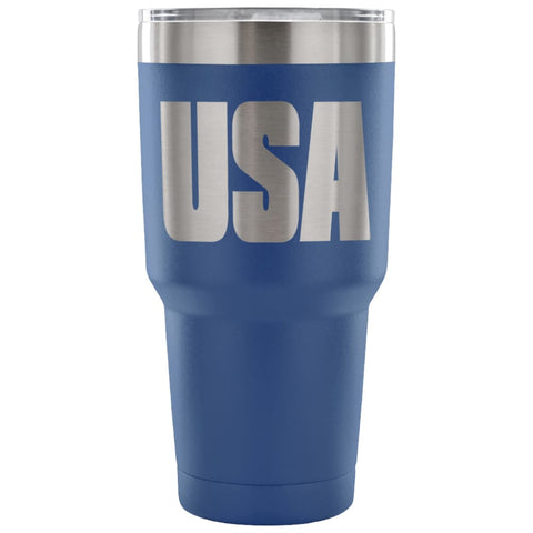 Image of American Greatness USA Tumbler (30oz) - 30 Ounce Vacuum Tumbler - Blue - Tumblers