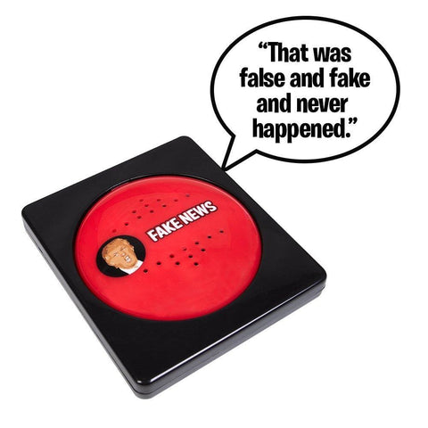 American Greatness You Are FAKE NEWS Talking Button