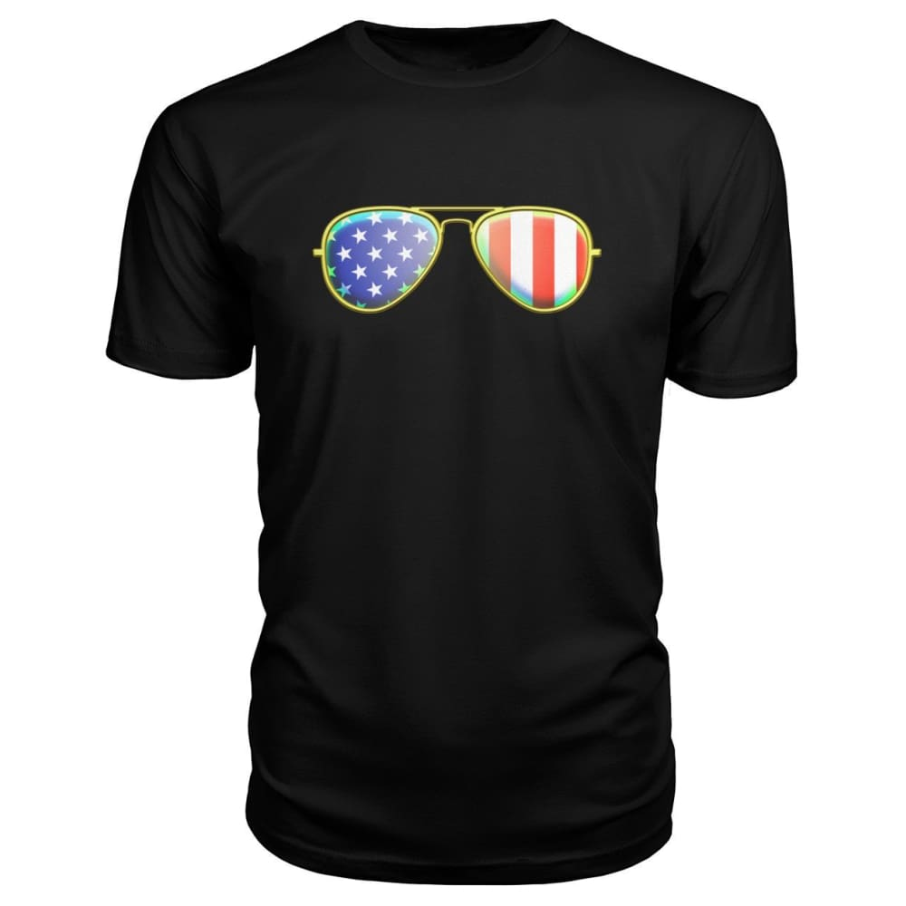 American Sunglasses Premium Tee - Black / S - Short Sleeves