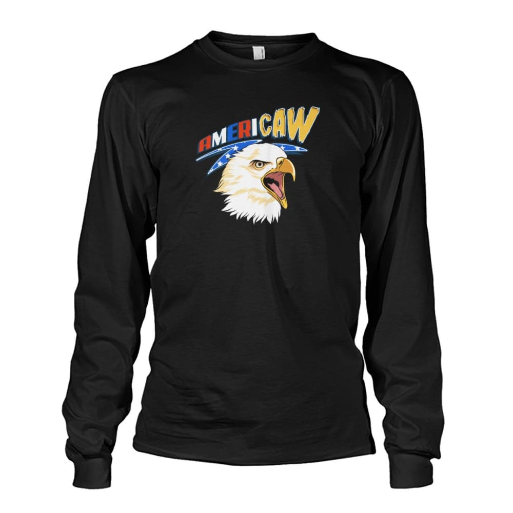 Americaw Long Sleeve - Black / S - Long Sleeves