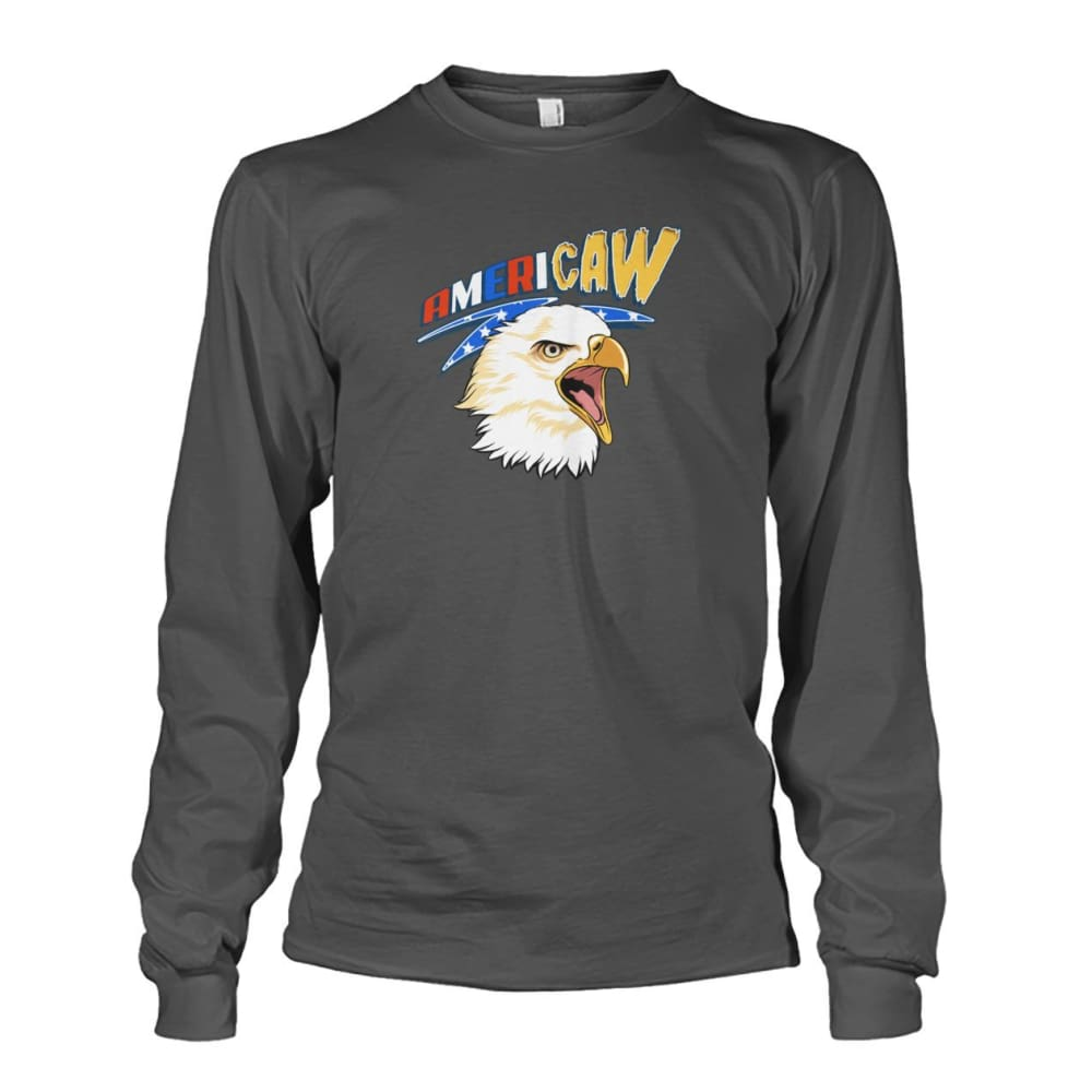 Americaw Long Sleeve - Charcoal / S - Long Sleeves