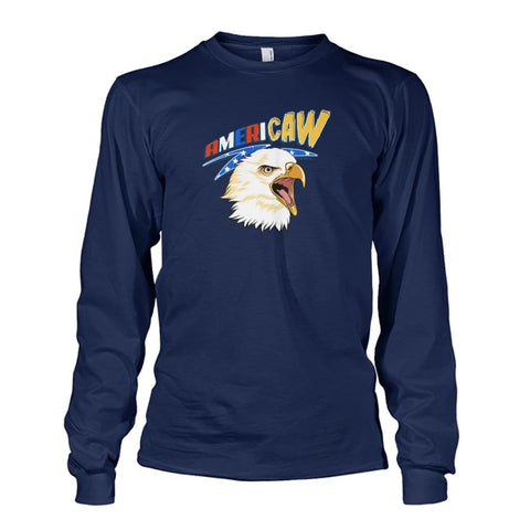 Image of Americaw Long Sleeve - Navy / S - Long Sleeves