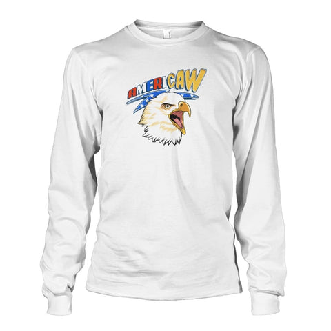Image of Americaw Long Sleeve - White / S - Long Sleeves
