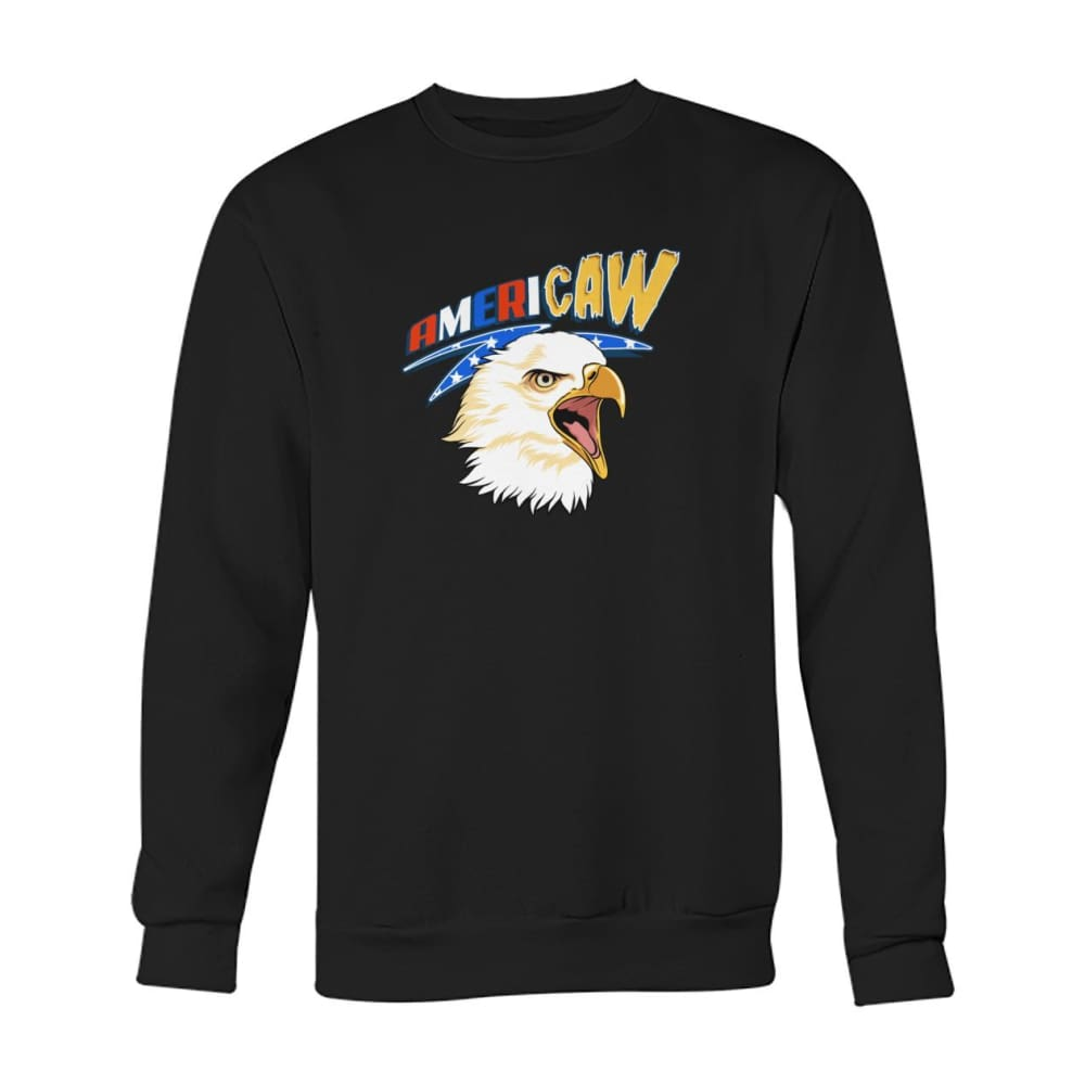 Americaw Sweatshirt - Black / S - Long Sleeves