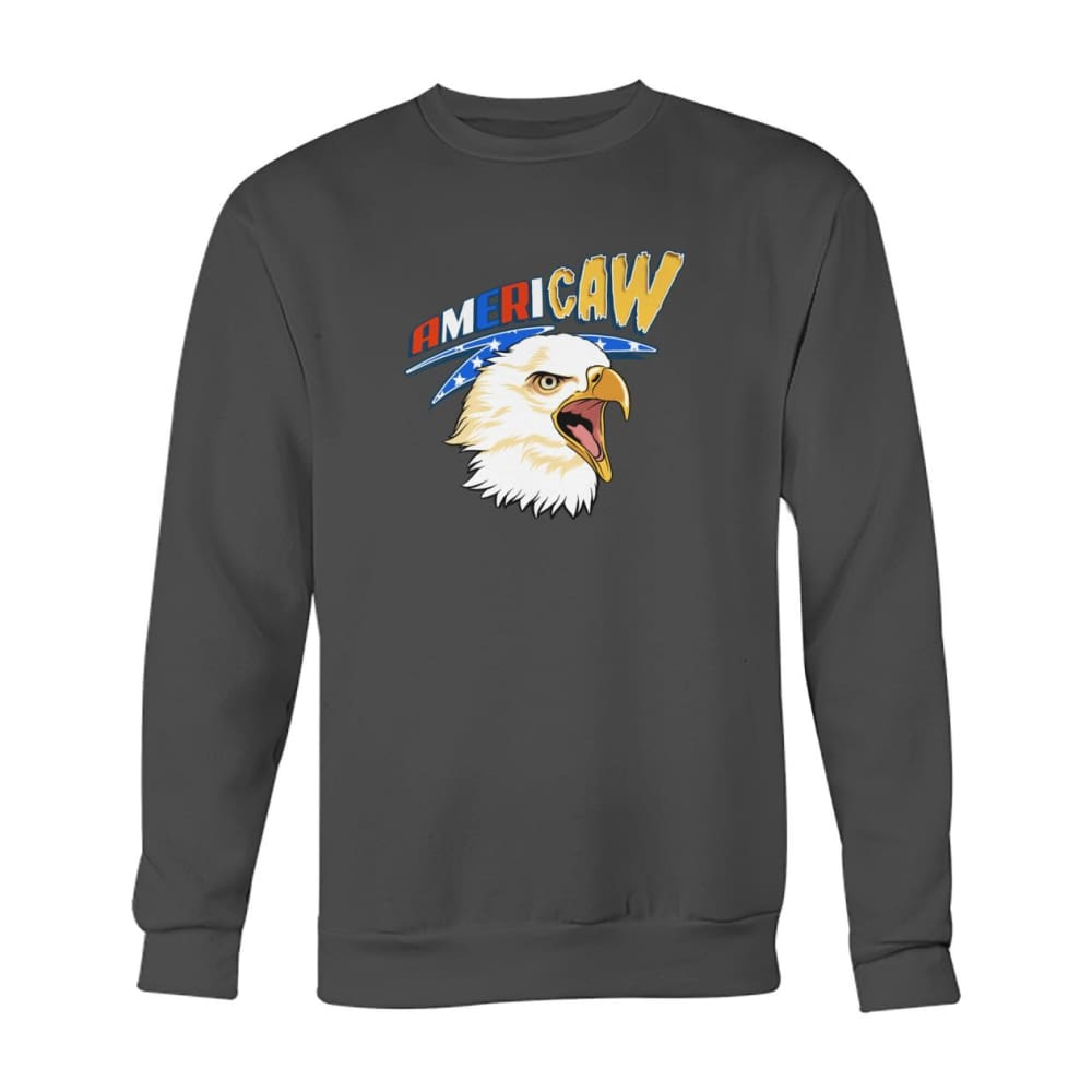 Americaw Sweatshirt - Charcoal / S - Long Sleeves