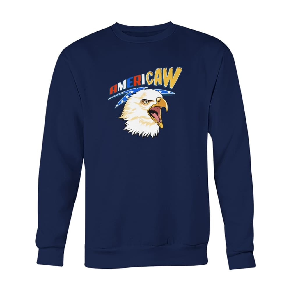 Americaw Sweatshirt - Navy / S - Long Sleeves