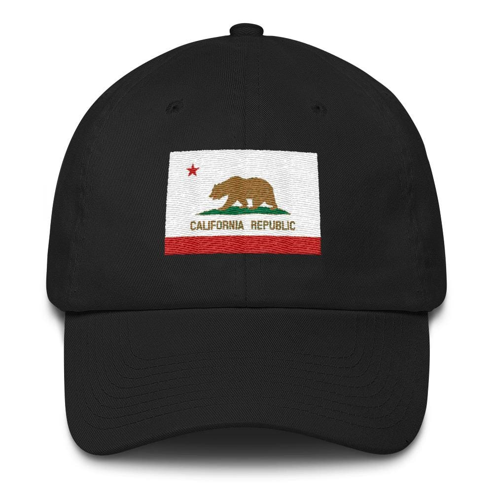 California *MADE IN THE USA* Hat - Black