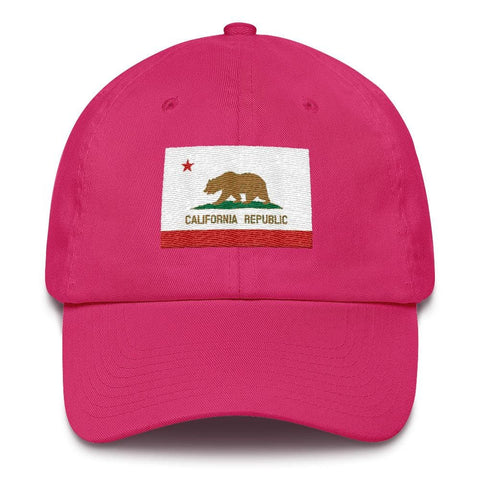 Image of California *MADE IN THE USA* Hat - Bright Pink
