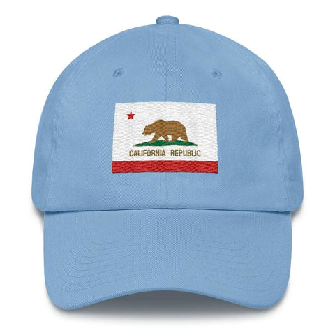 Image of California *MADE IN THE USA* Hat - Carolina Blue