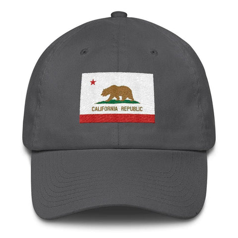 Image of California *MADE IN THE USA* Hat - Charcoal