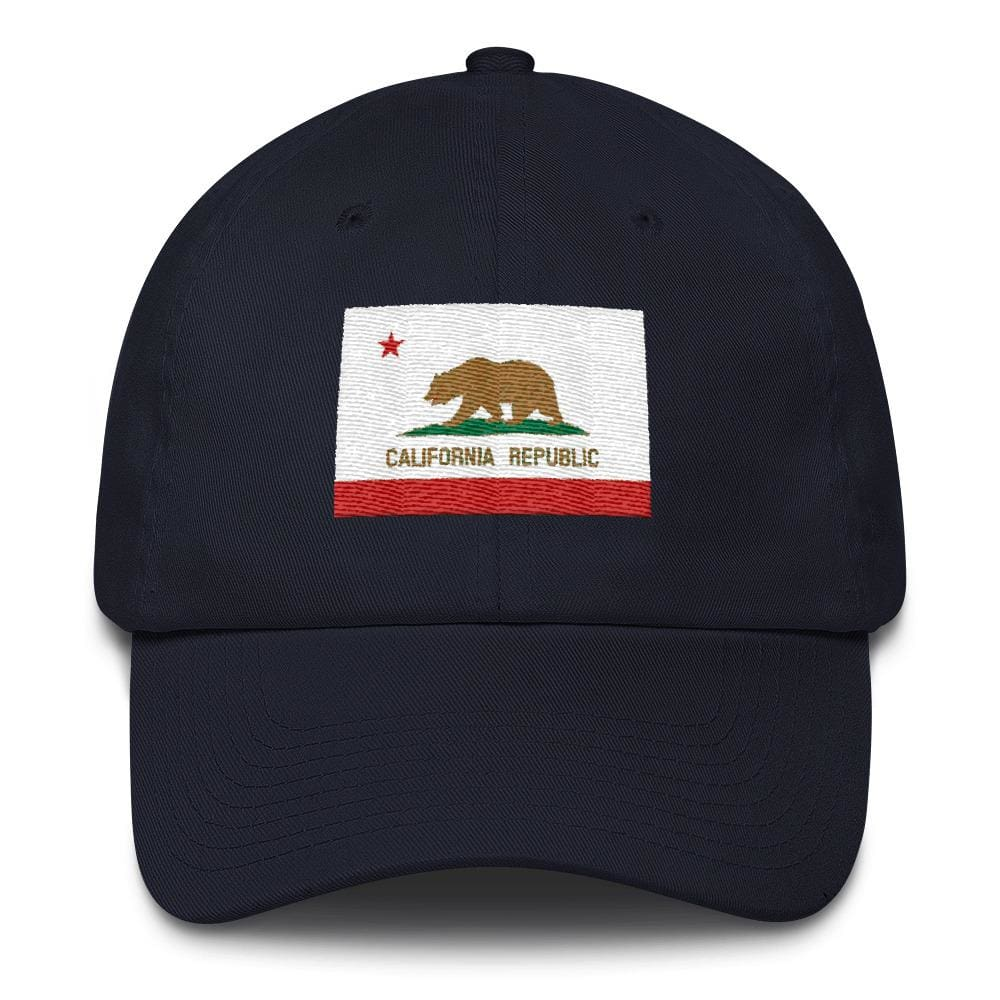 California *MADE IN THE USA* Hat - Navy