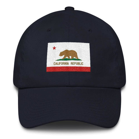 Image of California *MADE IN THE USA* Hat - Navy