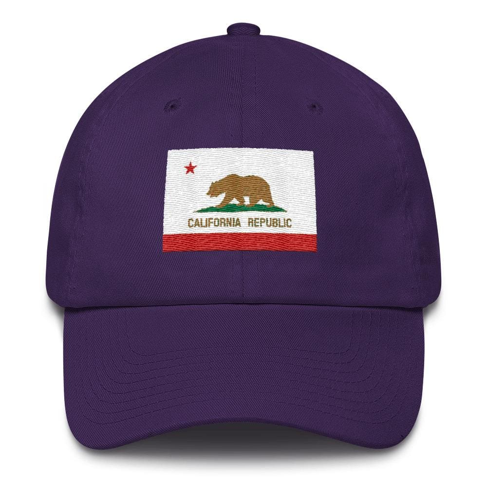 California *MADE IN THE USA* Hat - Purple