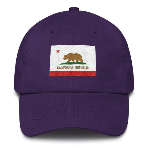 Image of California *MADE IN THE USA* Hat - Purple