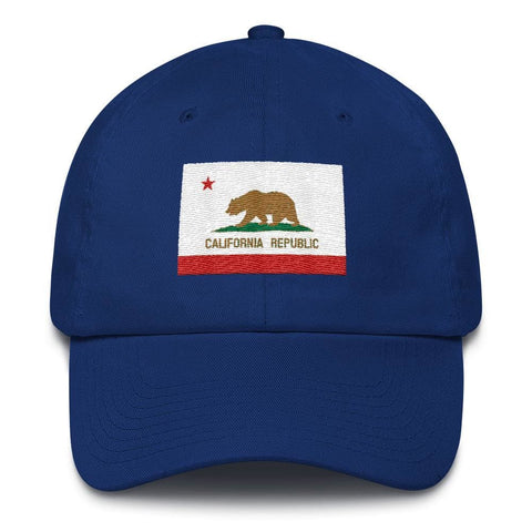 Image of California *MADE IN THE USA* Hat - Royal Blue