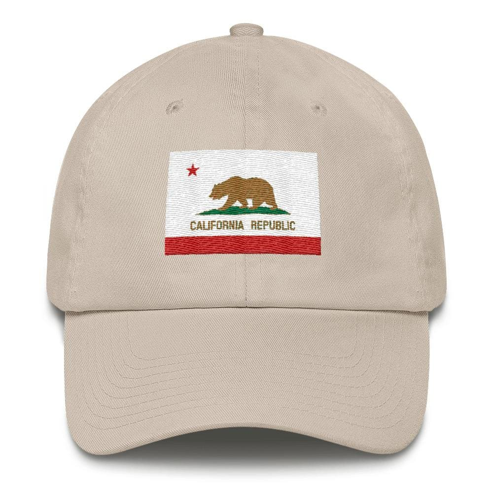 California *MADE IN THE USA* Hat - Stone