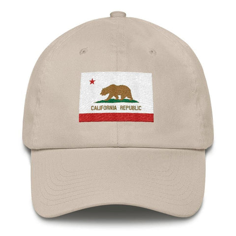 Image of California *MADE IN THE USA* Hat - Stone