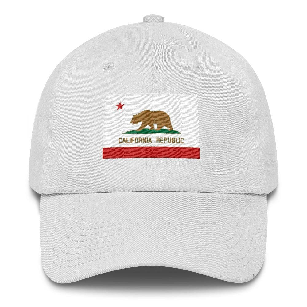 California *MADE IN THE USA* Hat - White