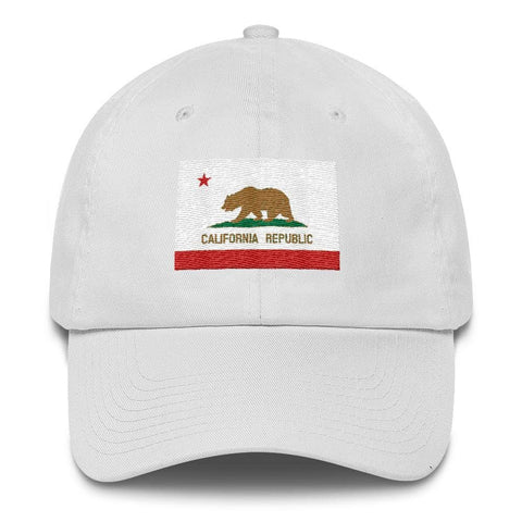 Image of California *MADE IN THE USA* Hat - White