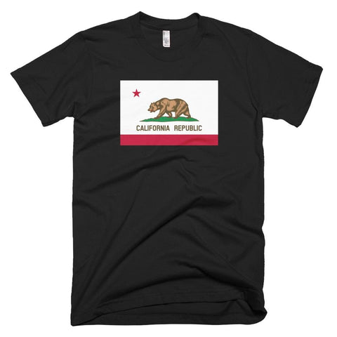 Image of California *MADE IN THE USA* Unisex T-shirt - Black / XS