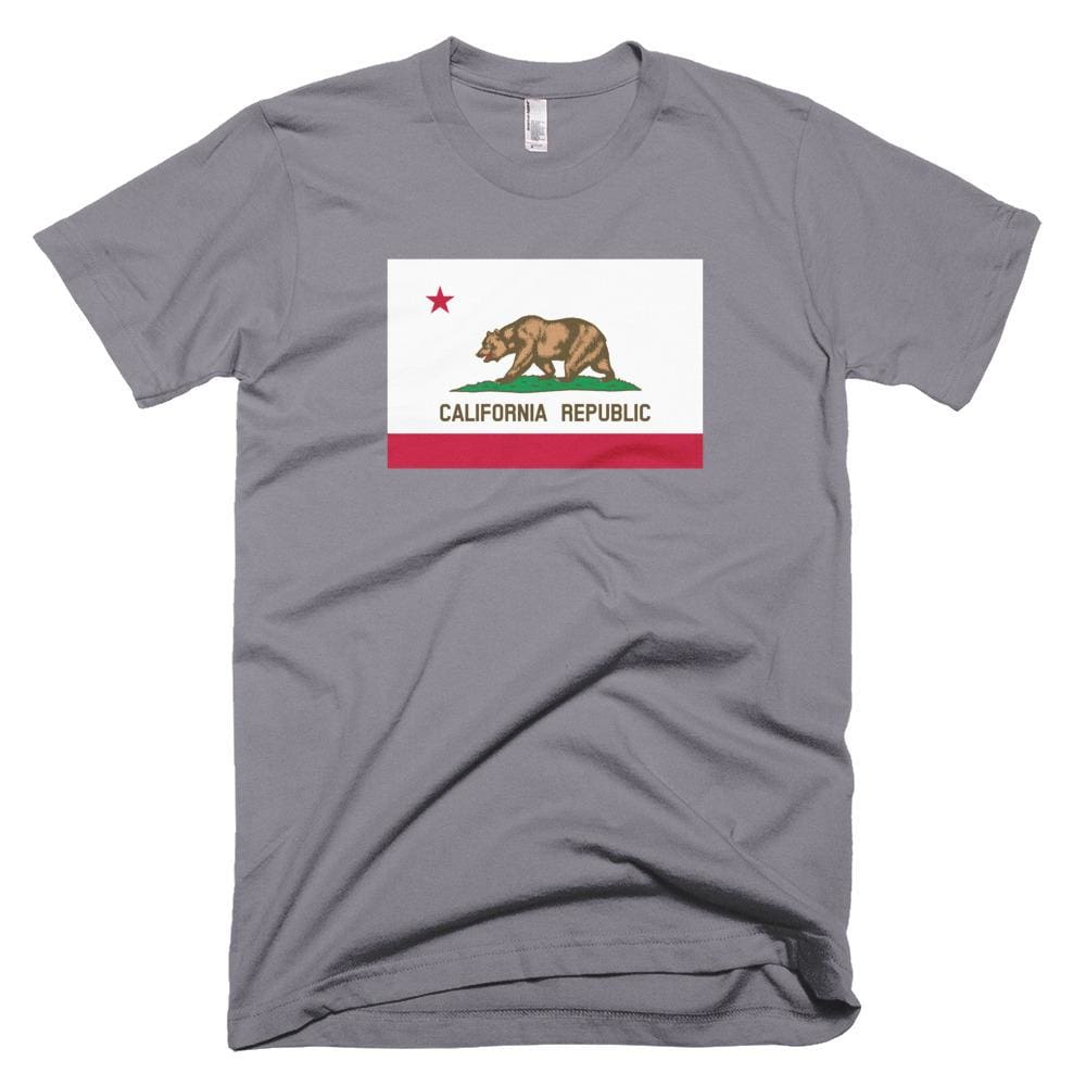 California *MADE IN THE USA* Unisex T-shirt - Slate / XS