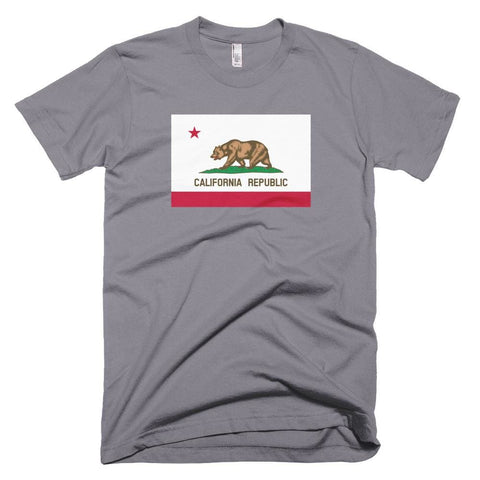 Image of California *MADE IN THE USA* Unisex T-shirt - Slate / XS