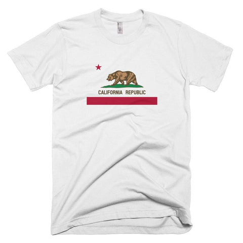 Image of California *MADE IN THE USA* Unisex T-shirt - White / XS