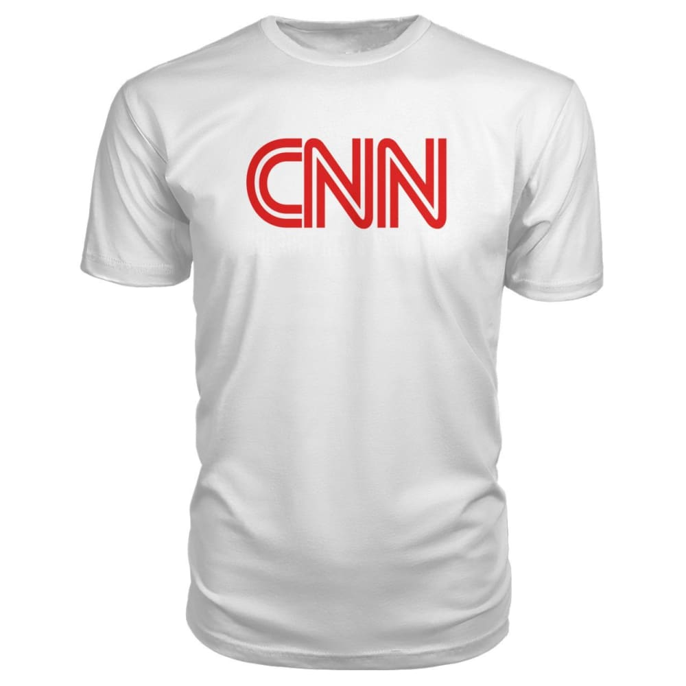 Corrupt News Network Premium Tee - White / S - Short Sleeves