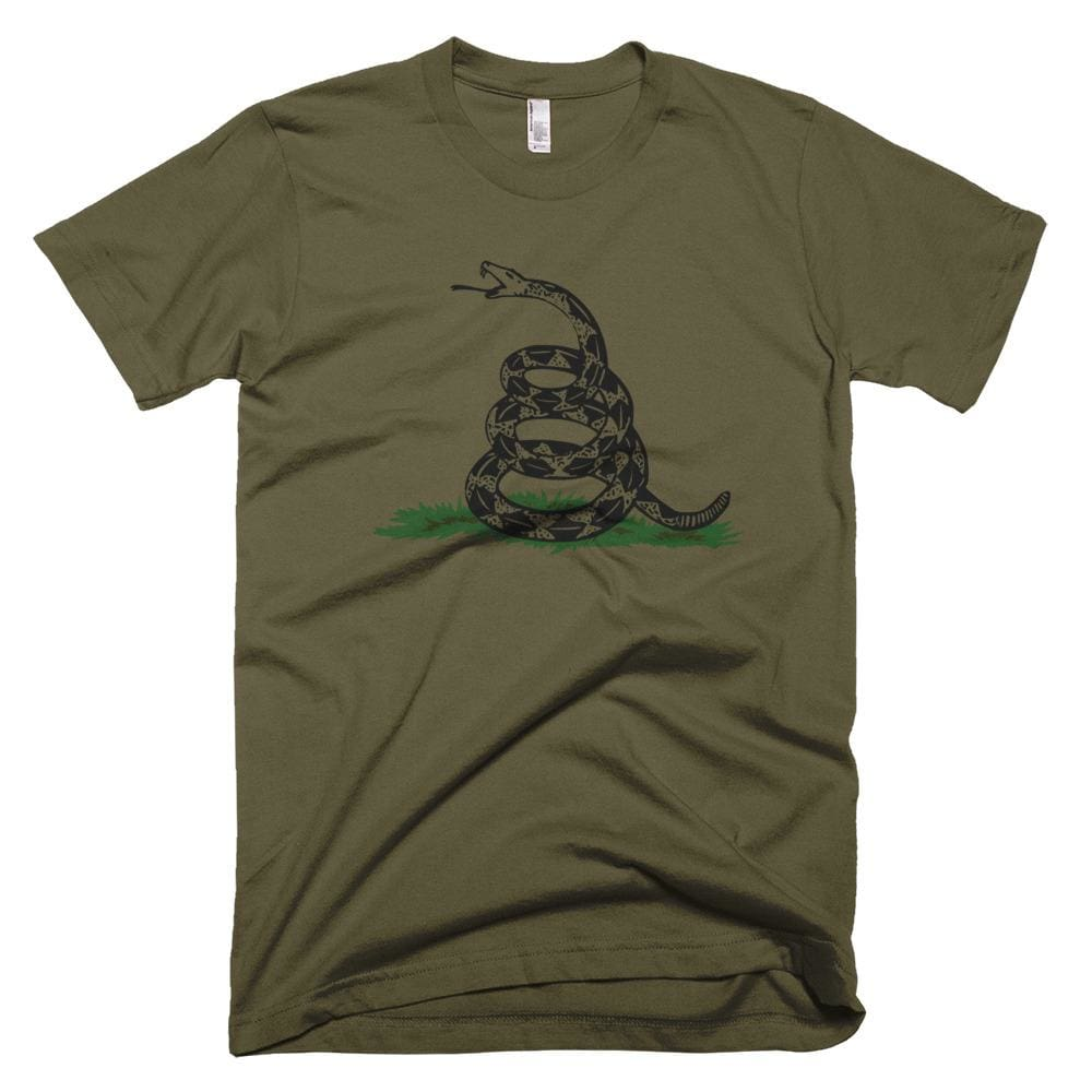 Dont Tread On Me *MADE IN THE USA* Unisex T-shirt - Army / XS
