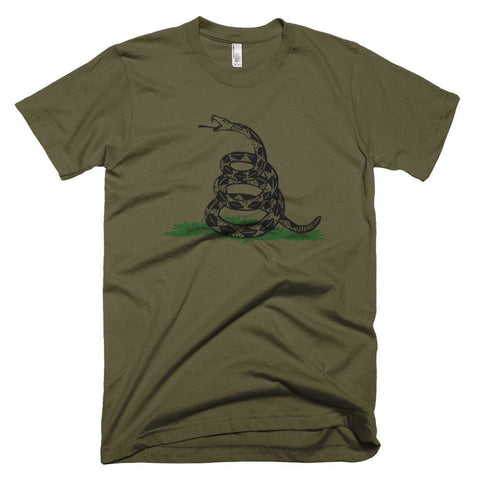 Image of Dont Tread On Me *MADE IN THE USA* Unisex T-shirt - Army / XS