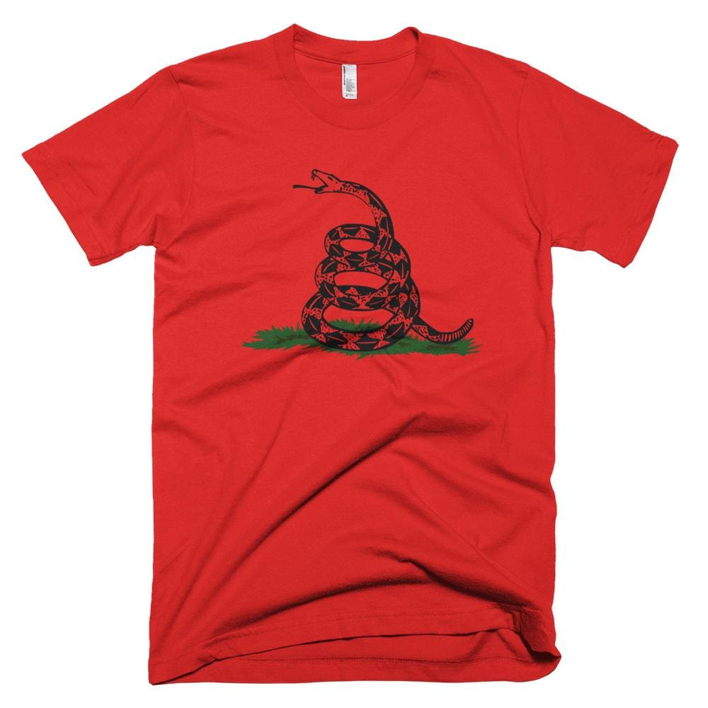 Dont Tread On Me *MADE IN THE USA* Unisex T-shirt - Red / XS