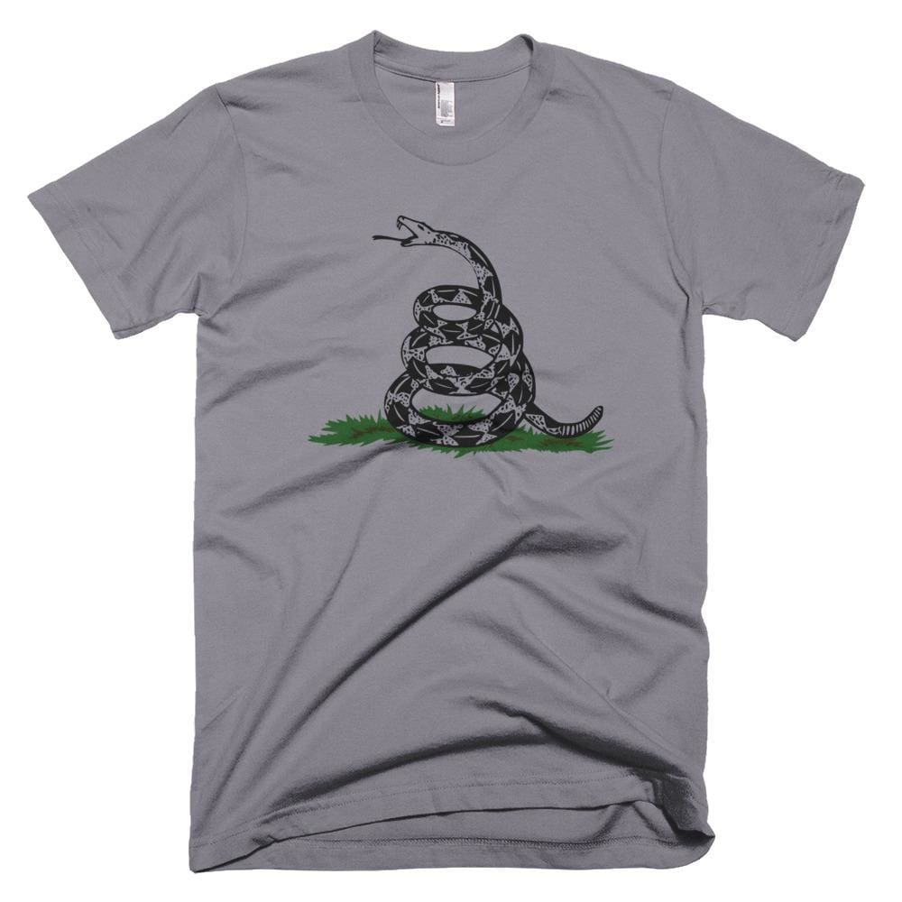 Dont Tread On Me *MADE IN THE USA* Unisex T-shirt - Slate / XS
