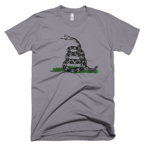 Image of Dont Tread On Me *MADE IN THE USA* Unisex T-shirt - Slate / XS