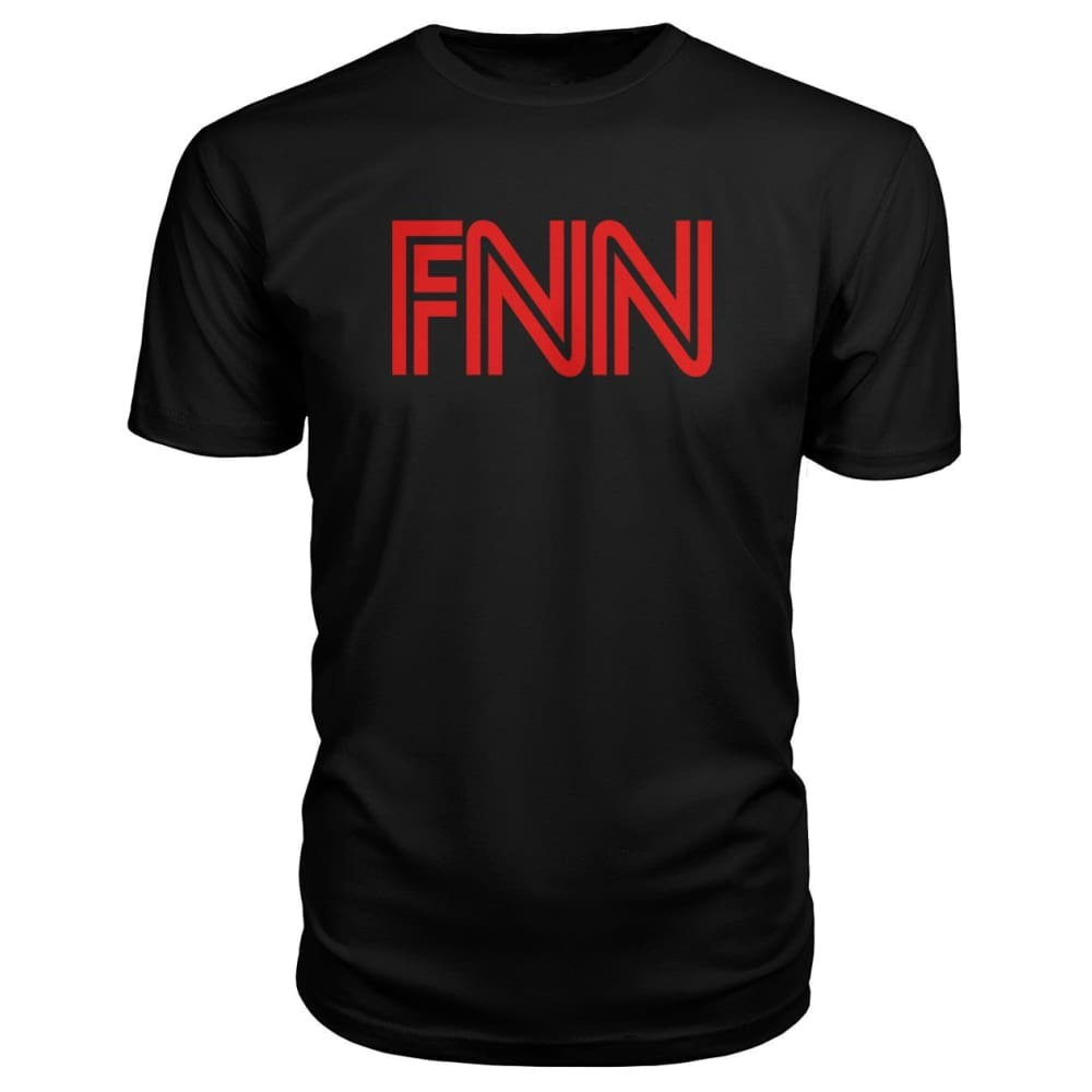 Fake News Network Premium Tee - Black / S / Premium Unisex Tee - Short Sleeves
