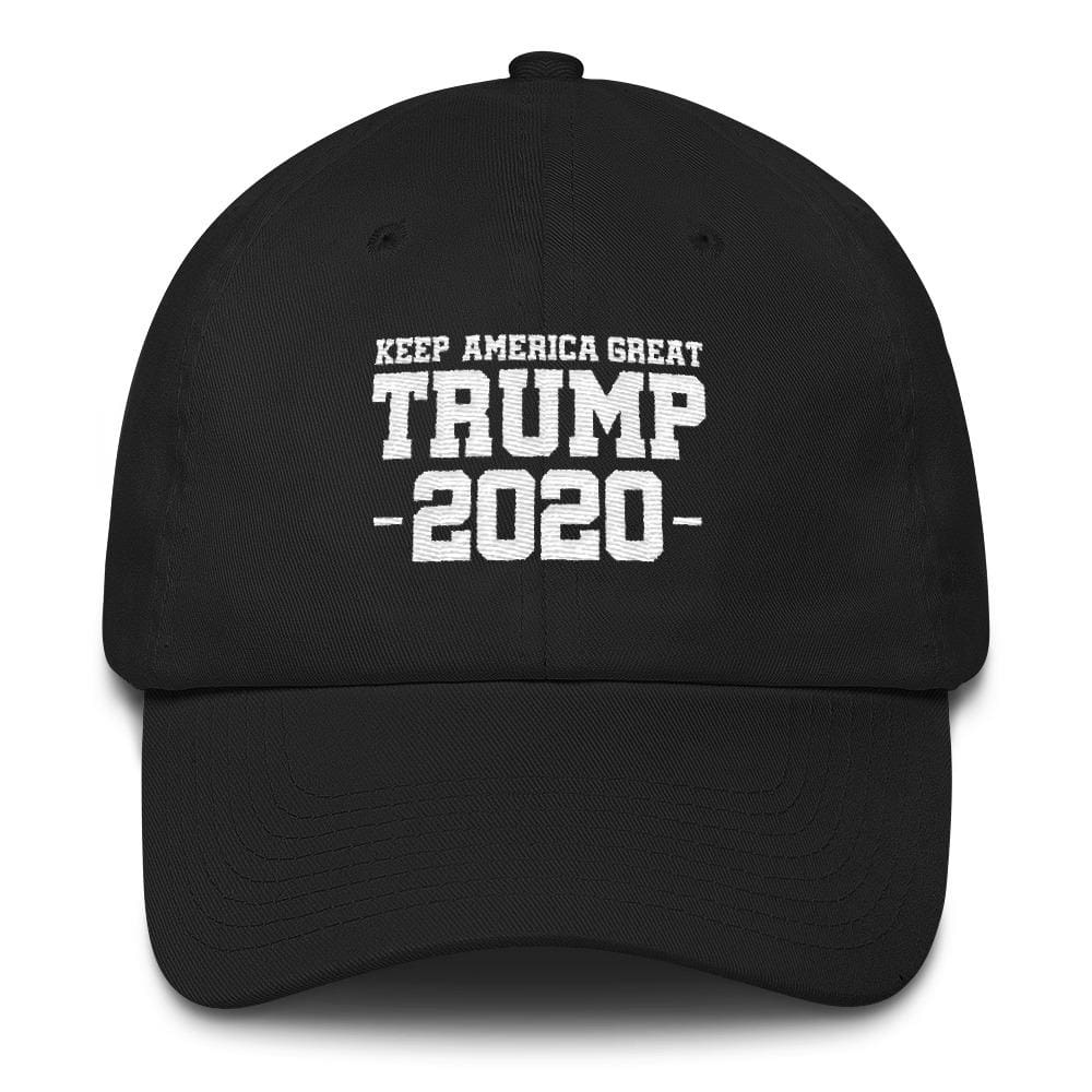 Keep America Great Trump 2020 *MADE IN THE USA* Hat - Black