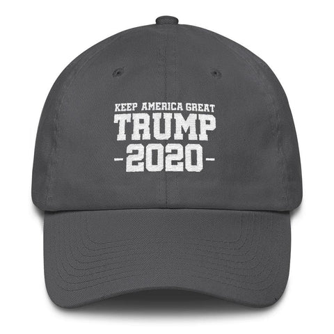 Keep America Great Trump 2020 *MADE IN THE USA* Hat - Charcoal