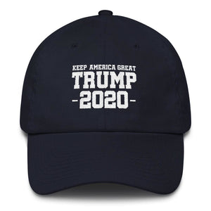 Keep America Great Trump 2020 *MADE IN THE USA* Hat - Navy