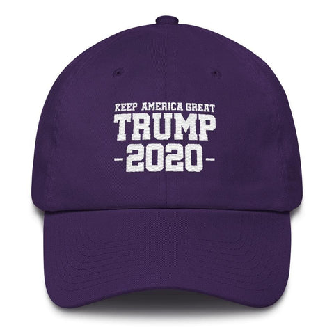 Keep America Great Trump 2020 *MADE IN THE USA* Hat - Purple