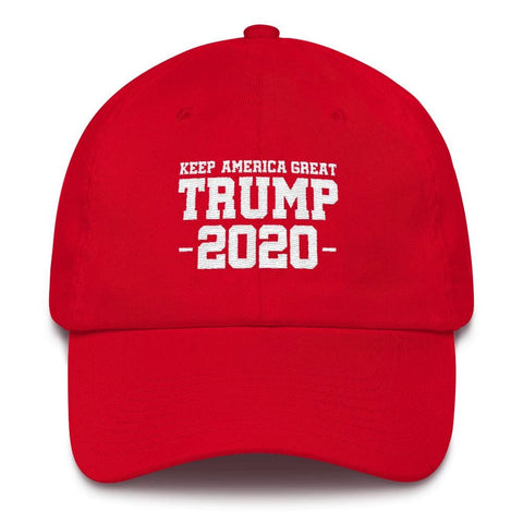 Keep America Great Trump 2020 *MADE IN THE USA* Hat - Red