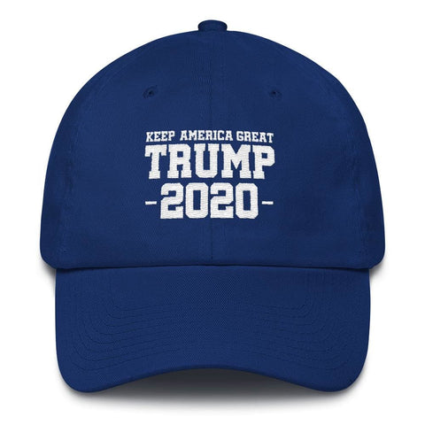 Keep America Great Trump 2020 *MADE IN THE USA* Hat - Royal Blue