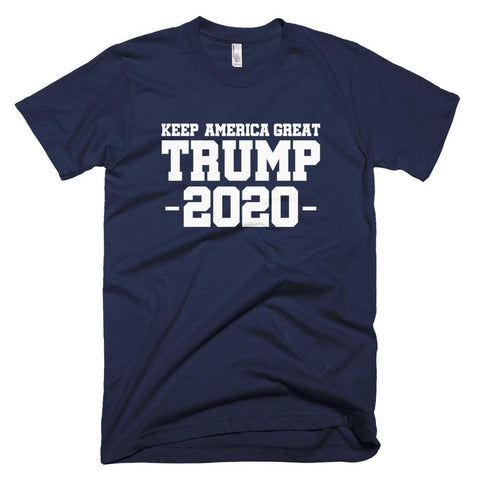 Keep America Great Trump 2020 *MADE IN THE USA* Unisex T-Shirt - Navy / XS